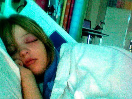 Grace in hospital