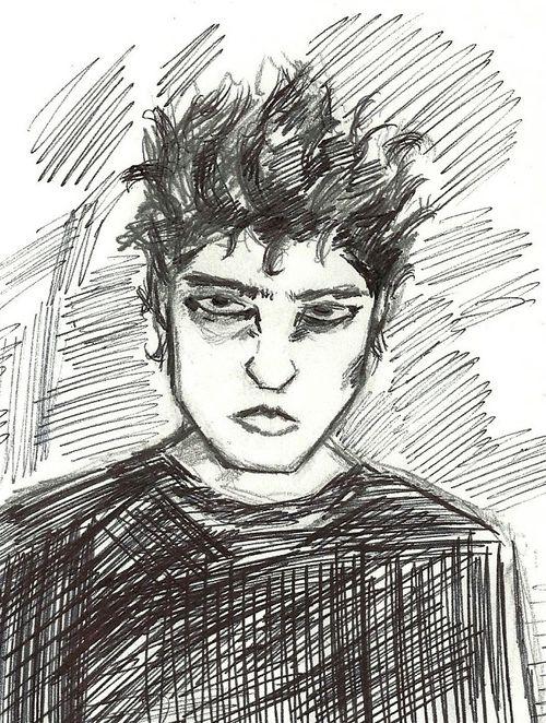 Shep's self portrait